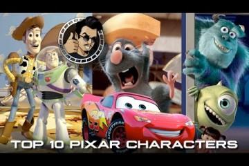 Top 10 Favorite Pixar Characters (HD) JoBlo.com Exclusive